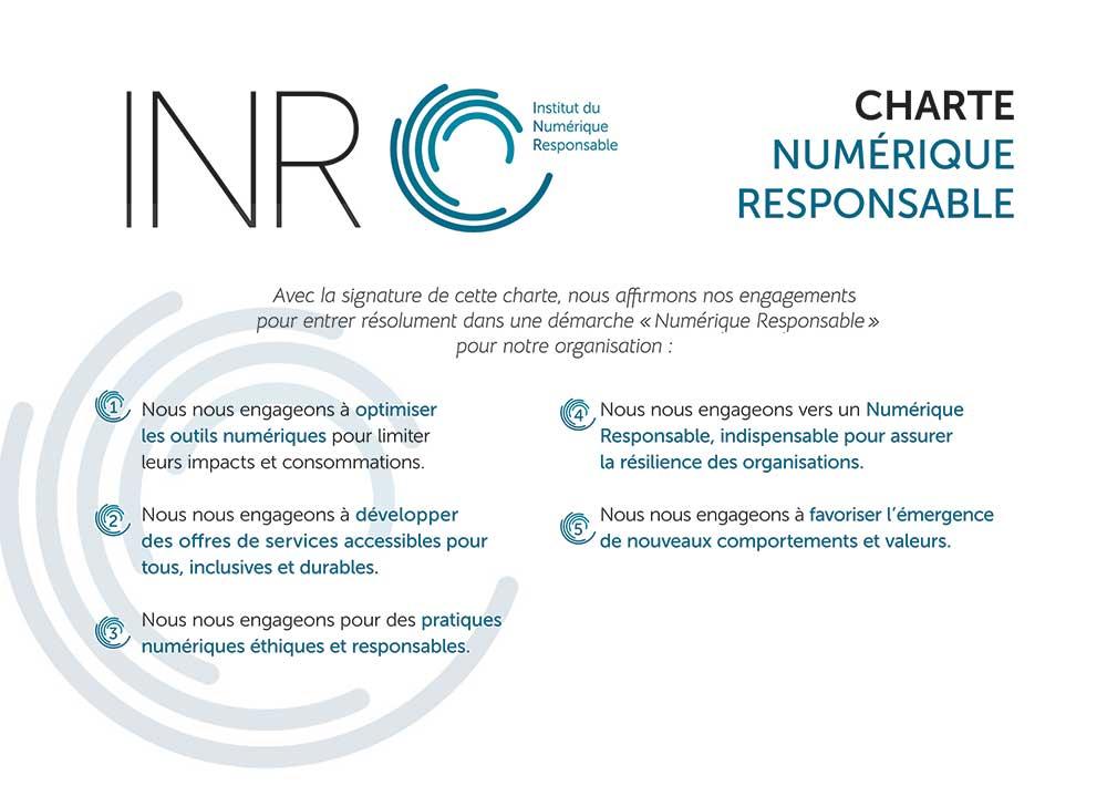 charte INR numérique responsable